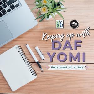 daf yomi One week at a time (1)