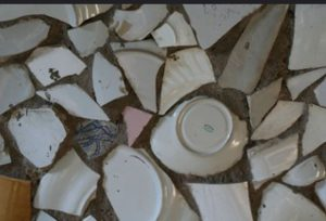 broken dishes flickr