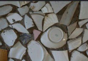 broken dishes flickr